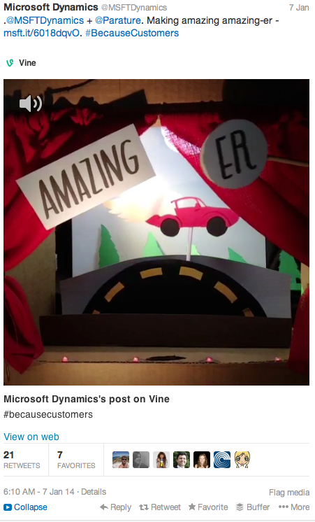 microsoft vine video