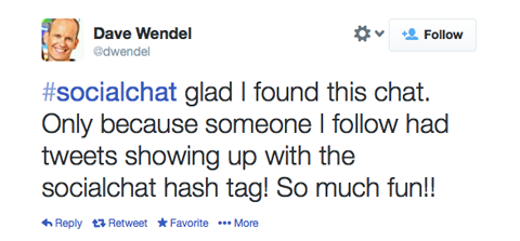 social proof with hashtags