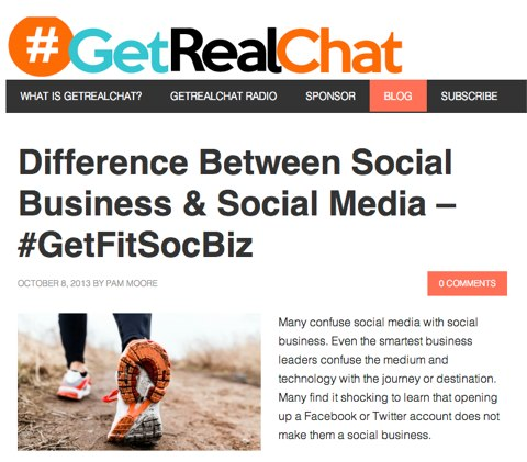 get real chat blog