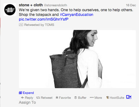 toms retweet of stone+cloth