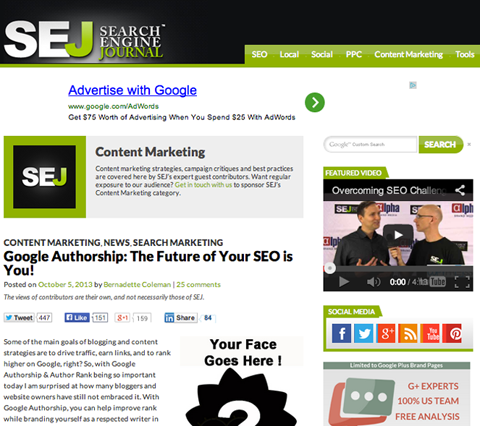 search engine journal seo article