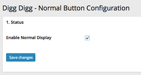 configure digg digg button