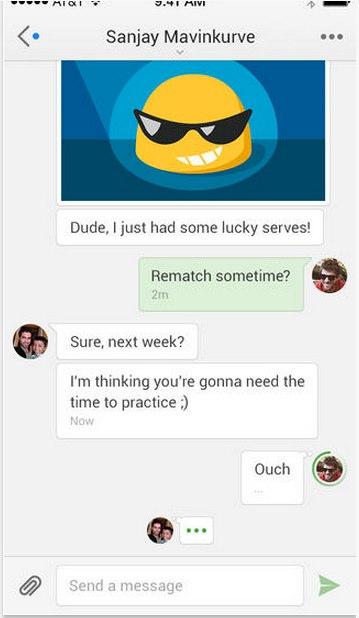 animated stickers google hangout app