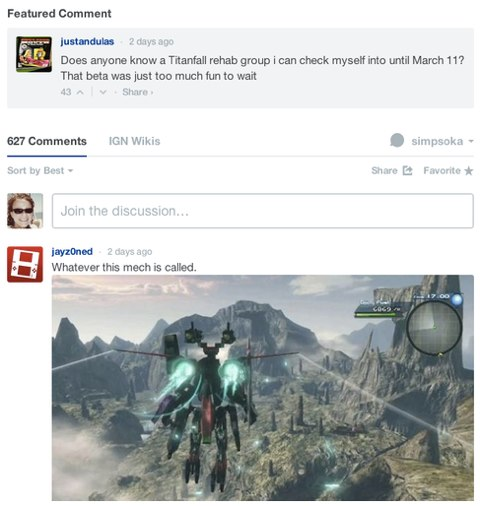 disqus featured comment