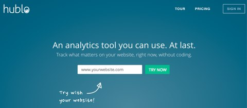 hublo analytics tool