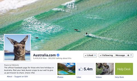 australia facebook