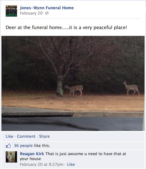 jones-wynn funeral home facebook update