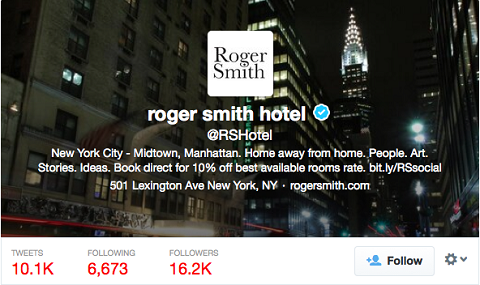 roger smith discount tweet