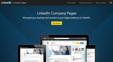 hp linkedin company page header
