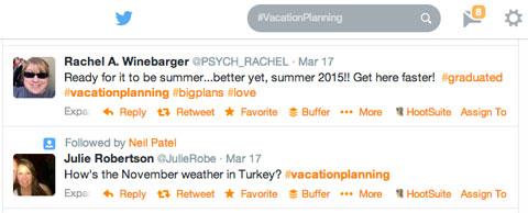 #vacationplanning tweets
