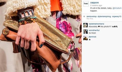zappos instagram profile