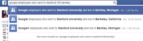 facebook boolean search