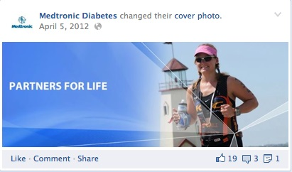 medtronic diabetes first facebook banner