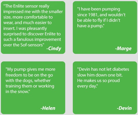 updated medtronic diabetes user story excerpts