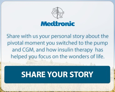 updated medtronic diabetes first facebook share your story prompt wording