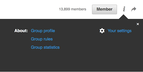 finding linkedin group rules