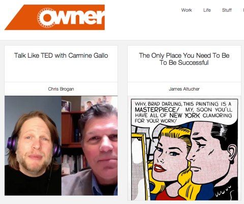 owner magazine