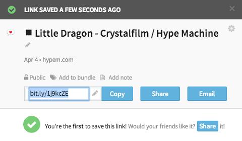 bitly url options