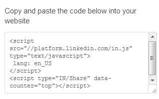 linkedin-open-forum-share-button-code