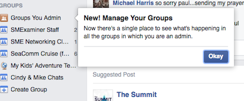 facebook groups you admin