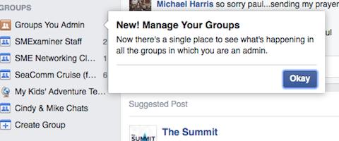 facebook groups you admin