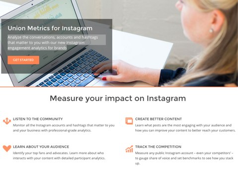 union metrics for instagram