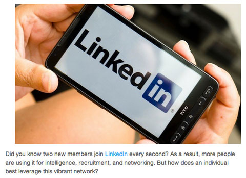 linkedin recommendations article image