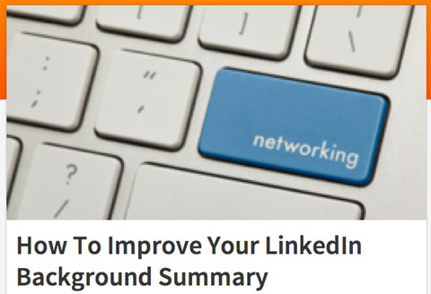 linkedin summary article image