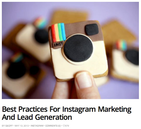 wearesocialmedia lead gen article