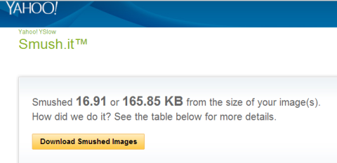 example of smush.it results