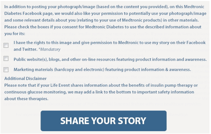 medtronic diabetes first opt in