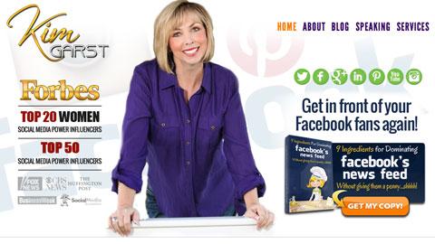 social icons on kimgarst.com