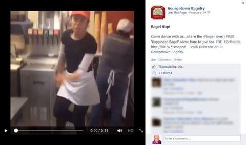 georgetown bagelry facebook behind the curtain update