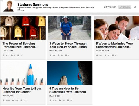 stephanie sammons linkedin posts