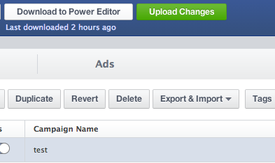 uploading your ad changes