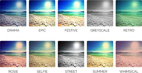 photo filter examples