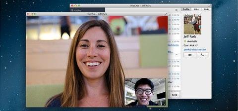 hipchat video screen sharing