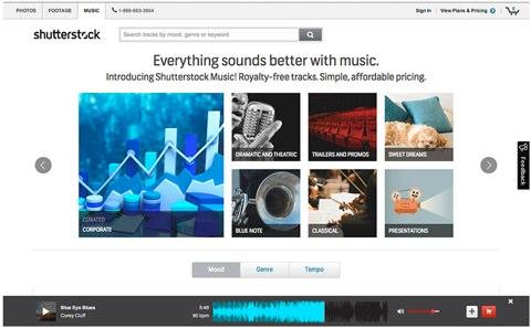 shutterstock music news