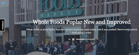 whole foods store opening image