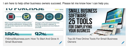slideshare decks in linkedin summary
