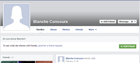 facebook blanche concours profile