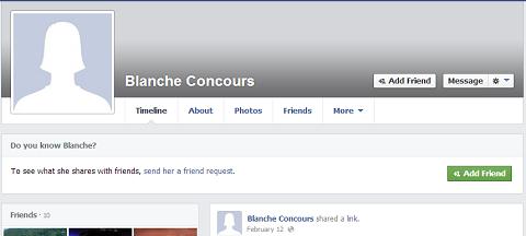facebook blanche concours profile