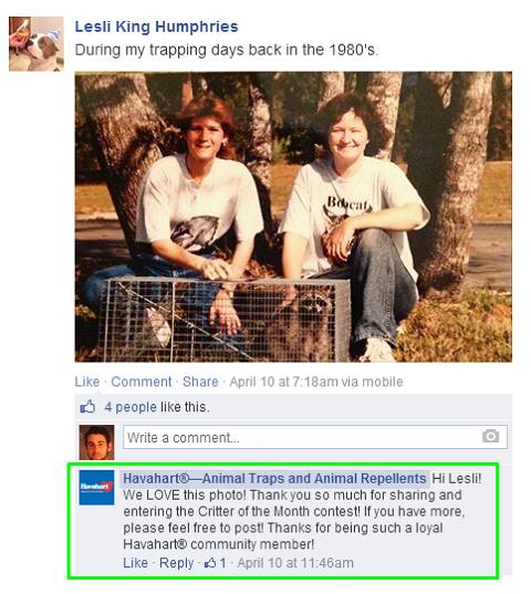 havahart facebook post