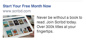 scribd facebook ad