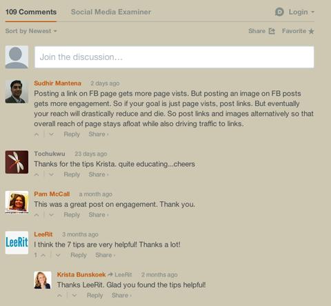 disqus blog comments