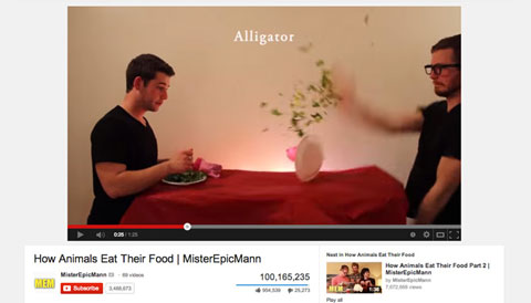 popular youtube video