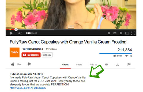 youtube video keyword description