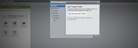 connect twitter to hootsuite