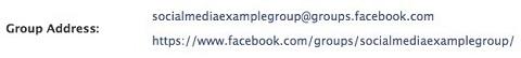facebook group custom url popup