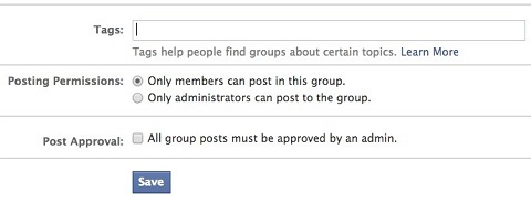 facebook group permissions